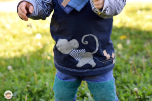 Unsere Musselintücher und die Birthdaymaus