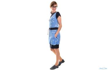 Designnähen Kleid Noa für Kreativlabor Berlin