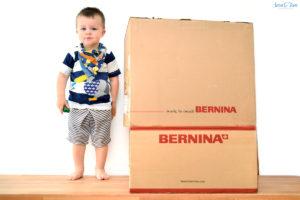 Die BERNINA B580 zieht in meinen Nähpark ein