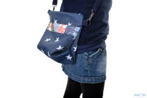 Taschen super leicht aus Softshell nähen