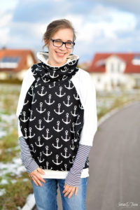 Mein maritimer Oversize Pullover
