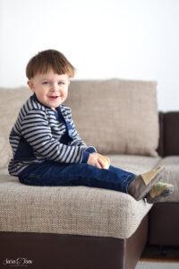 Der Cardigan Freude für kleine und große Jungs
