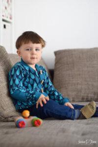 Der Cardigan Freude für kleine und große Jungs 3