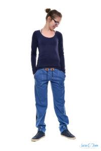 Eine coole Hose mit Streifen namens Tilda