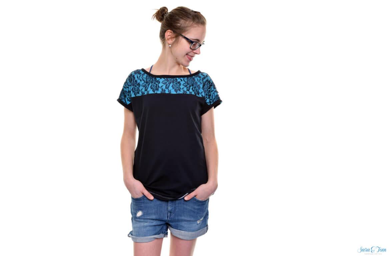Mein sommerliches Shirt Mia