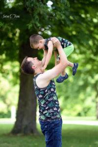 Partnerlook Vater und Sohn in Music