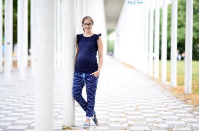 Meine Hose Roxie in Shapelines für die Schwangerschaft