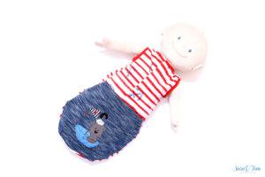 Einen Schlafsack für Krümel
