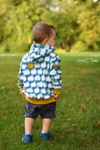 Eine coole Jacke aus Frotteestoff