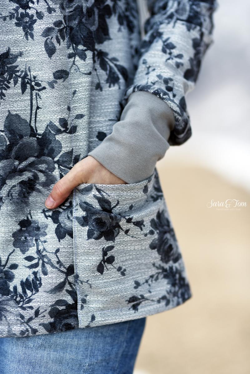 Der Mantel Tatjana ist online