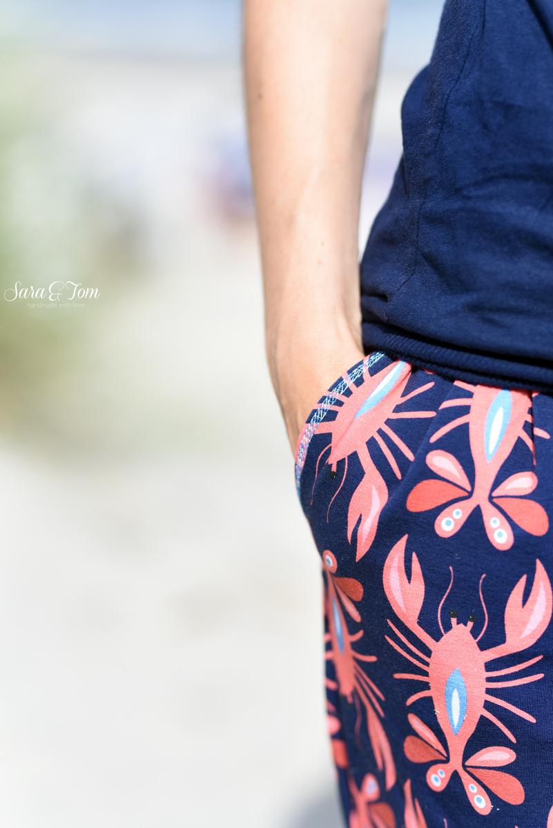 Eine coole Hose aus dem Lobster von Albstoffe