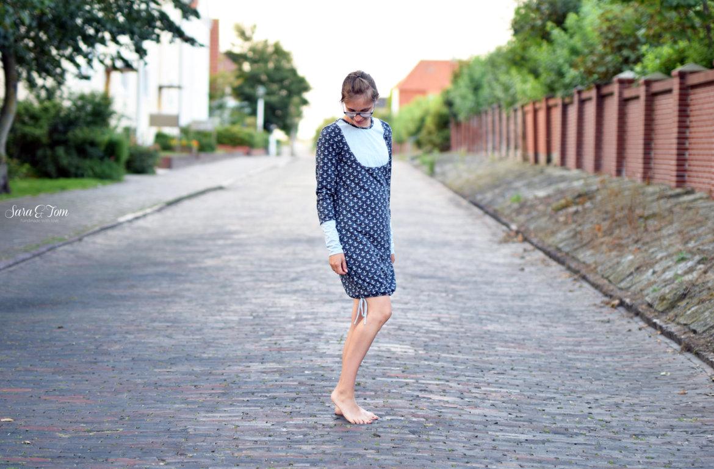 Mein maritimes Kleid für den Herbst