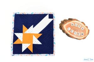 Quiltblock Star of Bethlehem