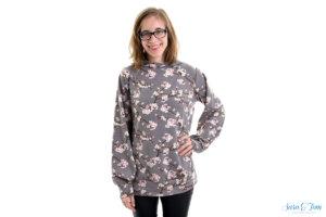 Das Shirt Margarete von Zierstoff