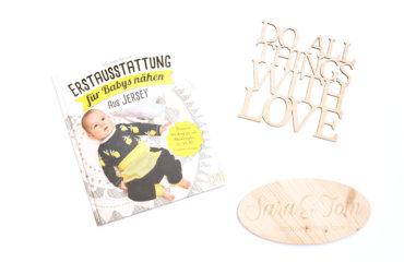 Buchverlosung Erstausstattung für Babys nähen