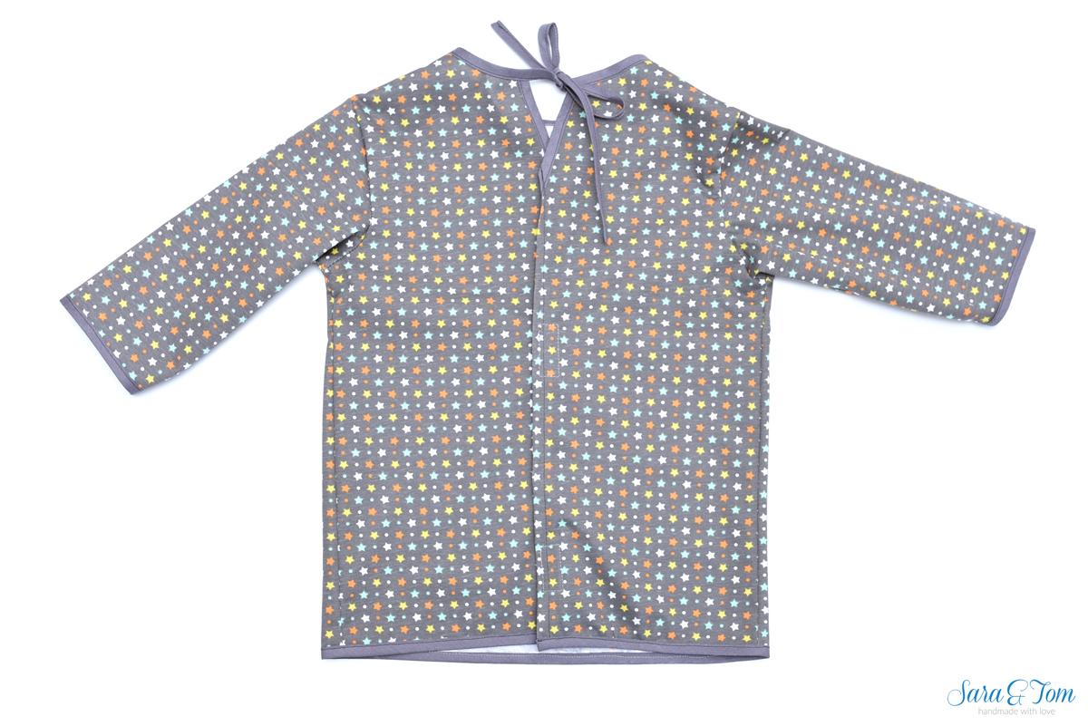 Tutorial PUL aus Shirt wird Malkittel