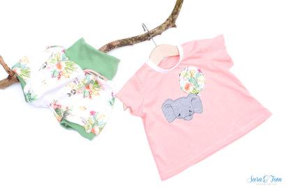 Das Shirt Annie und der Geburtstagselefant