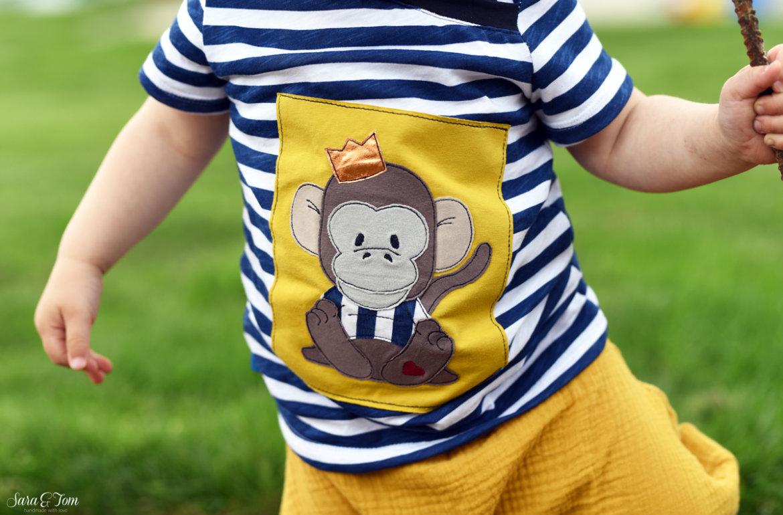 Ein super cooler Affe