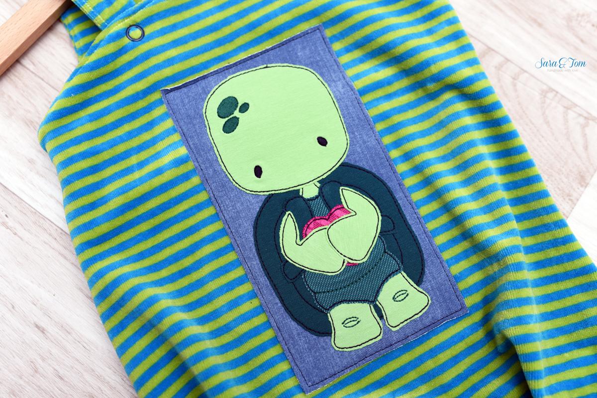 Schildkröte sticken