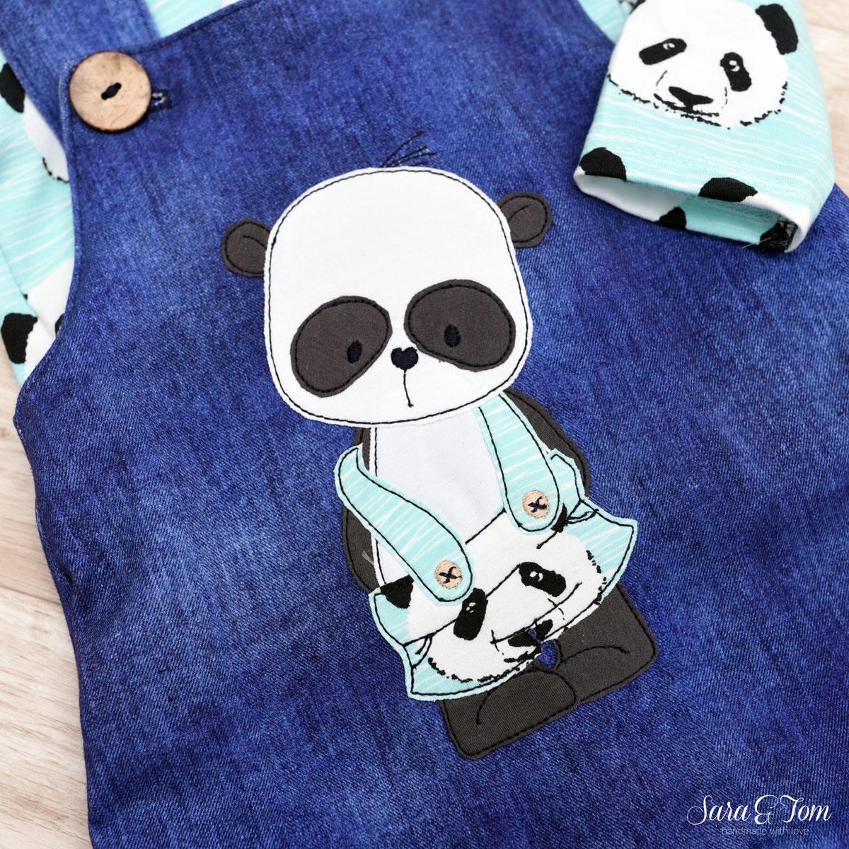 Pandaset sticken