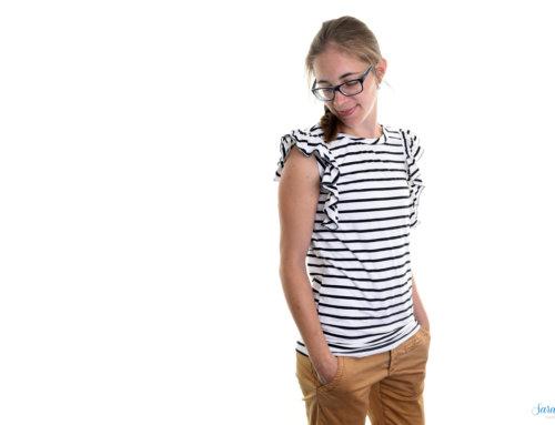 Rüschen nähen – Shirt Roxanne